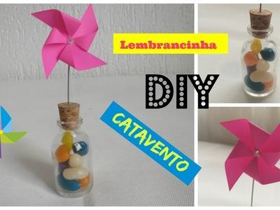 DIY - Lembrancinha Catavento