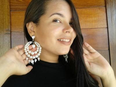 DIY: Maxi Brico de Pérolas FÁCIL e LINDO | Janayna Nascimento