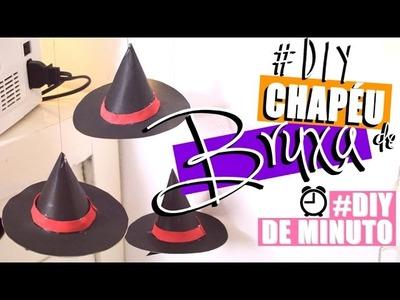 DIY: MÓBILE DE CHAPÉU DE BRUXA | #DIYdeMinuto - O Blog da Ka ♥