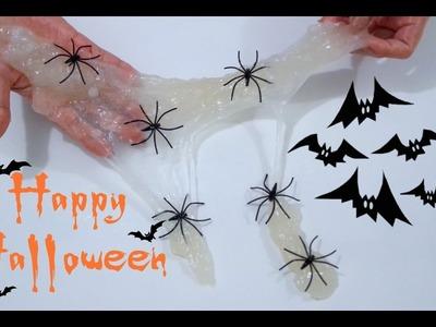 DIY: Slime Teia de Aranha Inspiração de Halloween