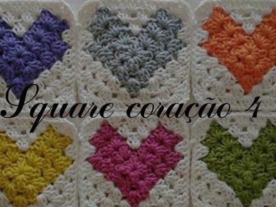 DIY squares coração 4