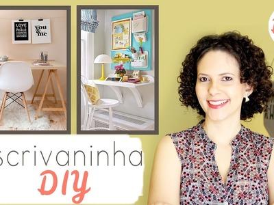 Escrivaninha DIY - 7 ideias lindas e fáceis ❤ Mariana Martins
