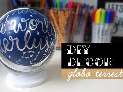 DIY Decor: Globo Retrô | Blog Primeiro Rabisco