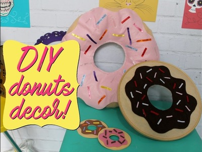 DIY: Decoração de donuts!