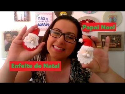 DIY - Faça seus enfeites de Natal - Papai Noel