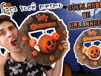 DIY; Faça você mesmo! Guirlanda de Halloween ft. Eduardo Wizard e Talitah Sampaio