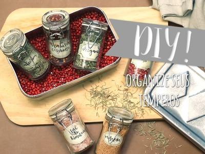 DIY: Organize seus temperos | WESTWING