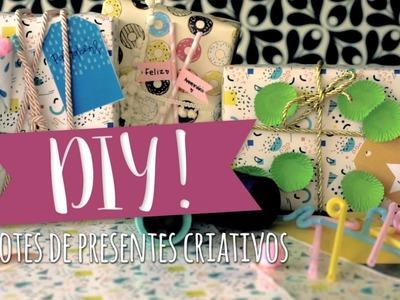 DIY: Pacotes de Presente Criativos | WESTWING