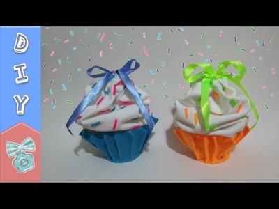 EMBALAGEM CUPCAKE ❤️ DIY -  Faça você mesmo