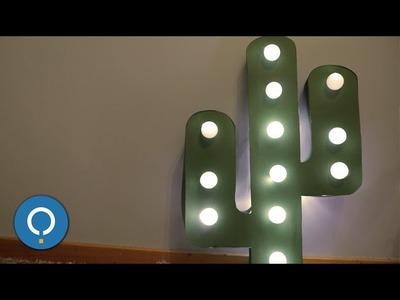Luminária decorativa | CACTO DIY