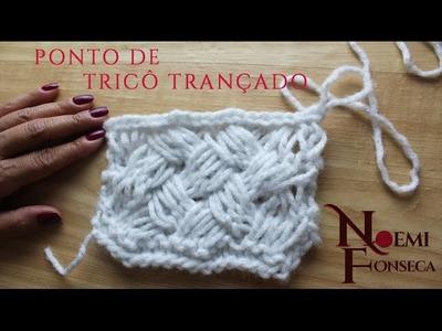 Noemi Fonseca - Ponto de Tricô Trançado #2