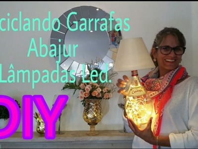 Reciclando garrafas- Abajur - 3 Ideias Lâmpadas Led - DIY do Lixo aoLuxo