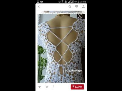 Vestido de Crochê Vera Vera - Parte 1