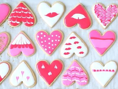 Biscoitos para o Dia dos Namorados