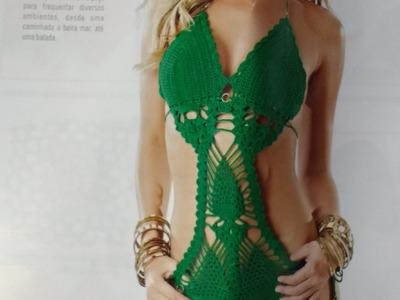 Body charme em crochê 1º parte  com Viviane Santos