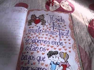 Caderno de Recordação - 1 Ano de Namoro