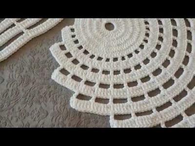Como fazer crochê - Emendando o tapete espiral