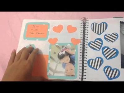 Scrapbook pro namorado