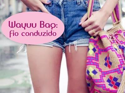Wayuu bag: fio conduzido (parte 3)