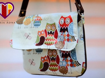 Bolsa de tecido Glaucia - Cursos e vendas de bolsas de tecido é no Maria Adna Ateliê