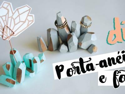 DIY: Cristais - Porta-anéis e Foto! por Isabelle Verona