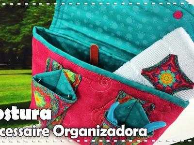 NECESSAIRE ORGANIZADORA com Gi Flores - Programa Arte Brasil - 16.09.2016