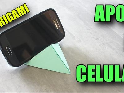 Apoio de Celular.Smartphone - Origami