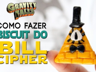 DIY: COMO FAZER O BILL CIPHER ❤ DIY GRAVITY FALLS