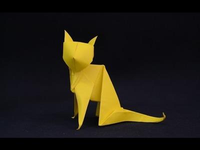 Origami: Cat