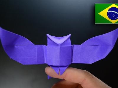 Origami: Coruja ( Riccardo Foschi ) - Instruções em Português PT-BR