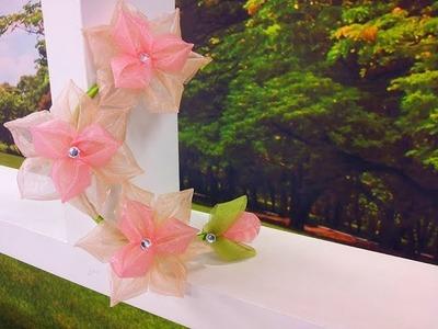 Programa Arte Brasil - 18.12.2015 - Yvone Lobato - Flor Kanzashi Especial