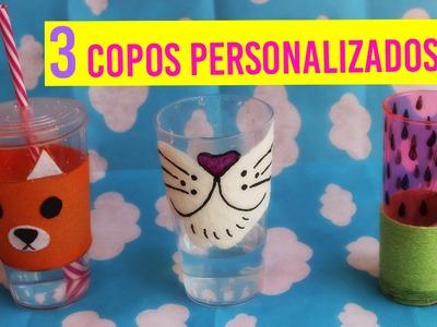 3 DIY'S ➸ COMO FAZER COPOS PERSONALIZADOS EM CASA