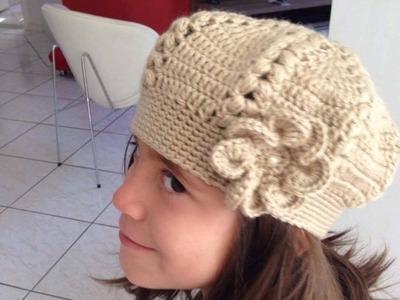 Boina Infantil c. Flor