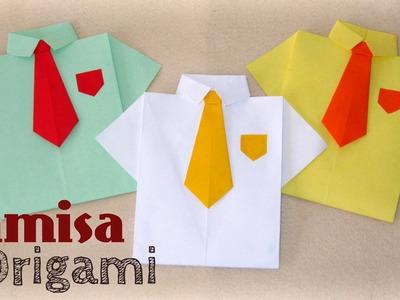 Camisa de Papel - Origami - [ Dia dos Pais ]