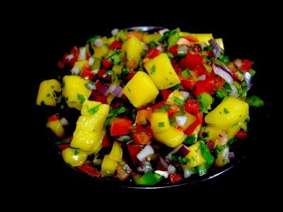 Deliciosa salsa de mango