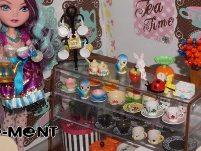 Re-Ment Fairy Tale Tableware Miniaturas unboxing review
