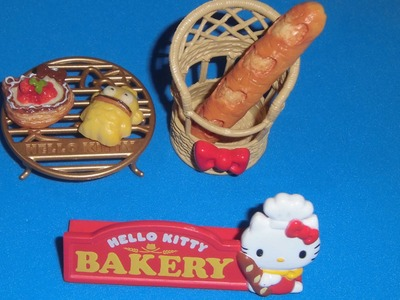 "Re-Ment ""Hello Kitty Bakery"" unboxing"