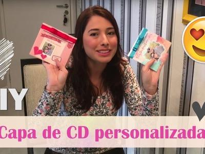 DIY Capa personalizada de CD para o Dia dos Namorados