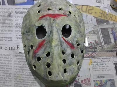 Como fazer a máscara do jason !