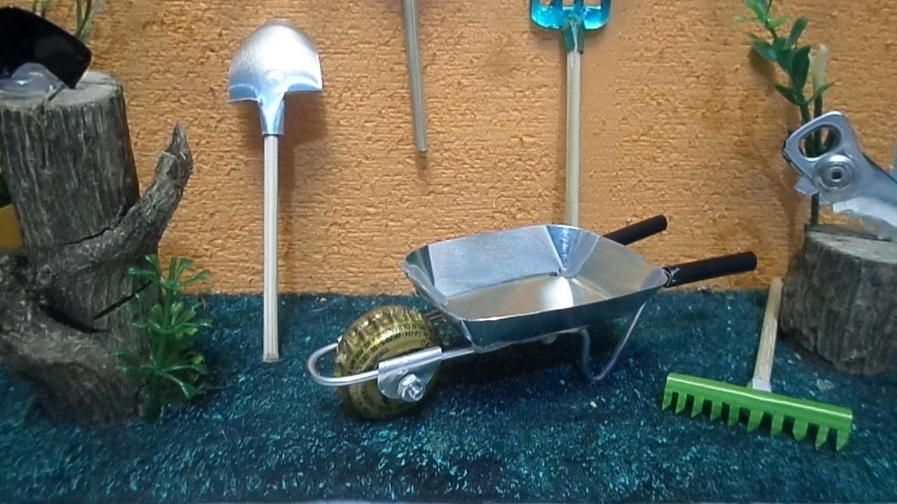 Como Fazer Carrinho Menor, Roda Tampinha de Garrafa, com lata de Café.