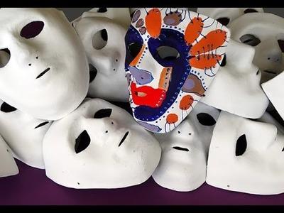 Como pintar uma máscara 2