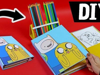 DIY - Organizador Escolar ✨Caderno + Estojo