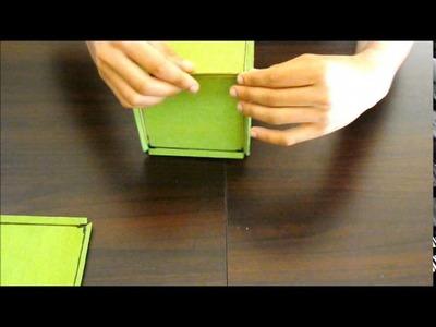 Material Manipulável para Construção dos poliedros de Platão