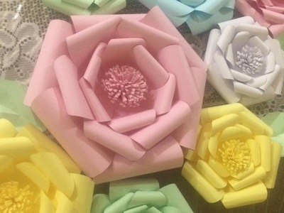 Tutorial - Flores Gigantes de Papel