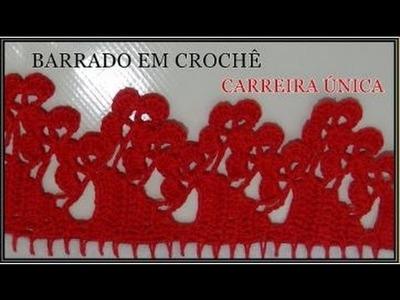 BARRADO EM CROCHÊ CARREIRA ÚNICA *MODELO 67*
