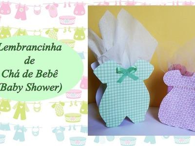 Como fazer Lembrancinha para chá de Bebê ou Nascimento (Baby shower)