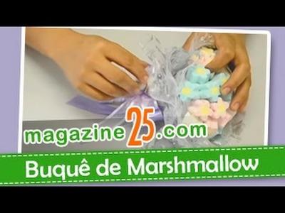 Como Fazer um Buquê de Marshmallow