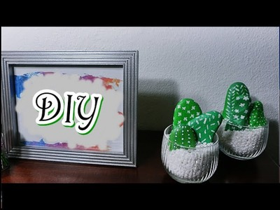 DIY: Cactus Stone Decor