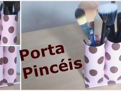 DIY   Como fazer um Porta Pincéis.Lápis com Material Reciclável