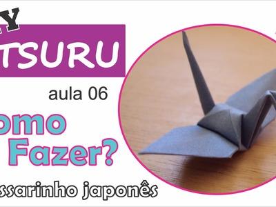 DIY | Como fazer um tsuru de origami (aula 06) - um pouco sobre papéis